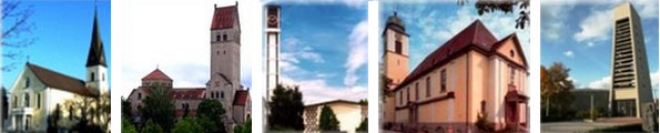 Die katholischen Kirchen in Singen