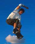 Skatebordfahrer