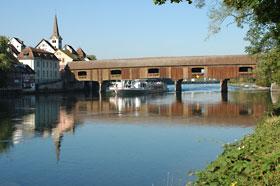 Brücke zwischen Gailingen und Diessenhofen