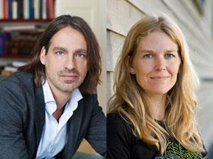 Richard David Precht und Antje von Dewitz