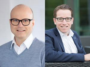 Gerhard Stübe und Urs Treuthardt