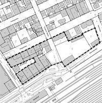 Bebauungsplan-Geltungsbereich Einkaufszentrum Innenstadt