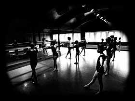 Ballettschule in der Färbe