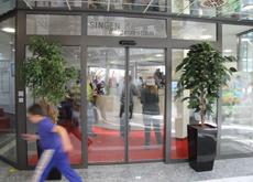 Eingang Bürgerzentrum