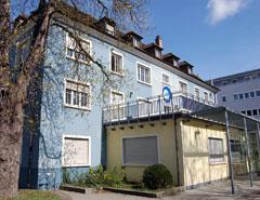 Ansicht Blaues Haus