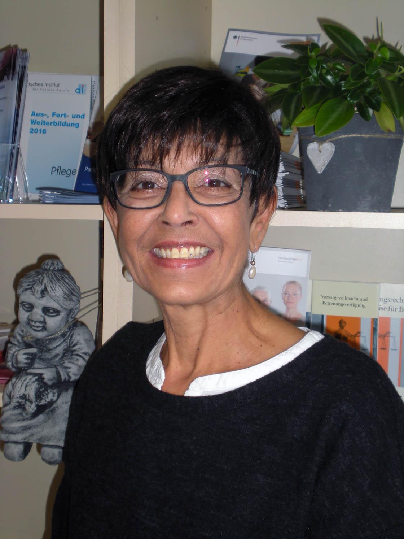 Gabriele Glocker als Seniorenbeauftragte