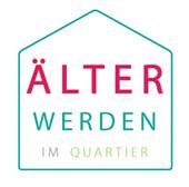Logo Älter werden im Quartier