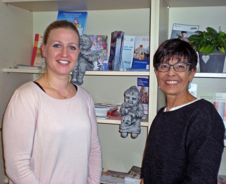 Verena Zupan und Gabriele Glocker