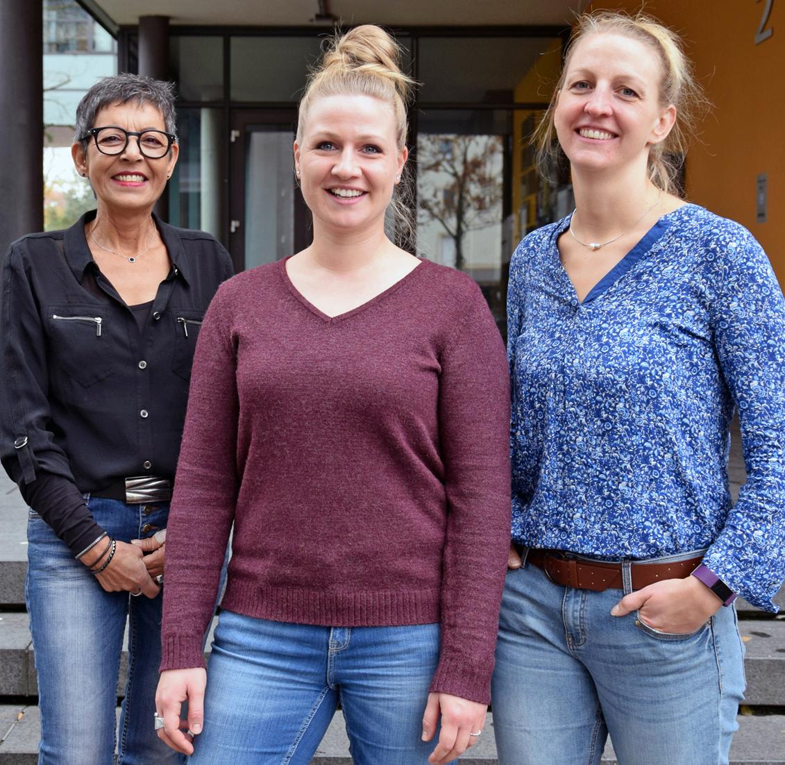Gabriele Glocker, Verena Zupan und Anja Haaff