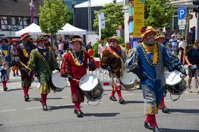2018 - Juni: Verbandsmusikfest mit Festumzug