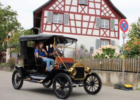 2019 - August: Oldtimertreffen bei der Sichelhenke