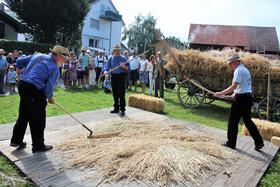 2019 - August: Marktgasse an Bohlinger Sichelhenke