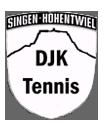 Logo DJK Singen - Abteilung Tennis