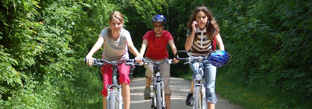 Radfahren im Hegau