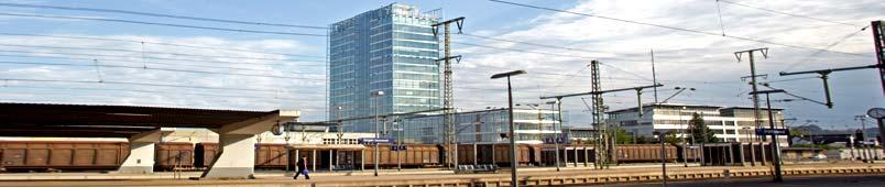 Ansicht Singener Bahnhof